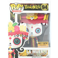 Funko The Book Of Life Pop! Movies La Muerte Glow-In-The-Dark Vinyl Figure Hot Topic Exclusive