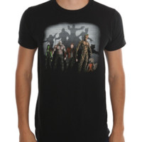 Marvel Guardians Of The Galaxy Lineup T-Shirt