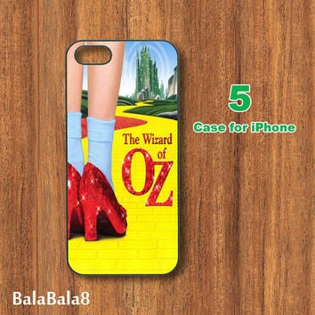 The Wizard of OZ--Plastic or Silicone iPhone  4 case,Plastic or silicone iphone 5 Case