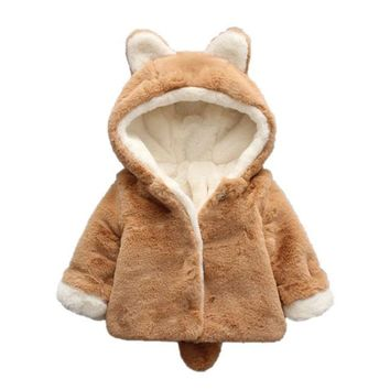 Baby Coat - Bunny Bear - 3 Colors
