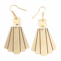 Gold Empire Earrings