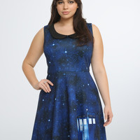 Doctor Who Collection Tardis Skater Dress