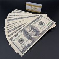 100x $100 Bills - $10,000 2000s Style Prop Money