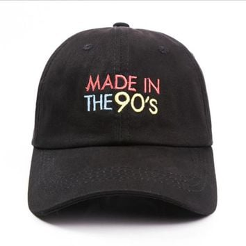 """""""made in the 90's"""" dad hat"""