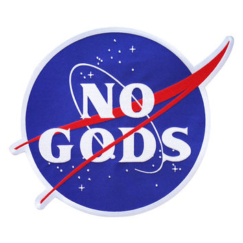 No Gods Back Patch
