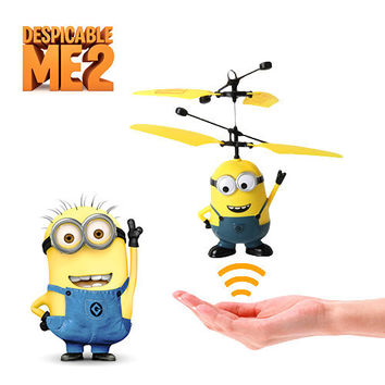 Despicable Me Minion Remote Control Helicopter-Yellow