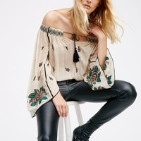 Free People Folk Forest Top