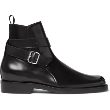 balenciaga leather jodhpur boots 2