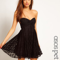 ASOS PETITE Exclusive Skater Dress In Lace