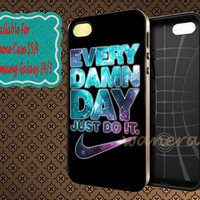 Nike Every Damn Day Just do it Sparkling Stars for iphone case, Samsung Galaxy Case, iPod Case, HTC Case, Blackberry Case, Sony Case