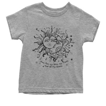 You Are My Sun, My Moon, My Stars Youth T-shirt