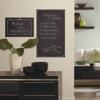 Room Mates Decorative 2.3' x 1.4' Chalkboard Peel and Stick Giant Wall Decal