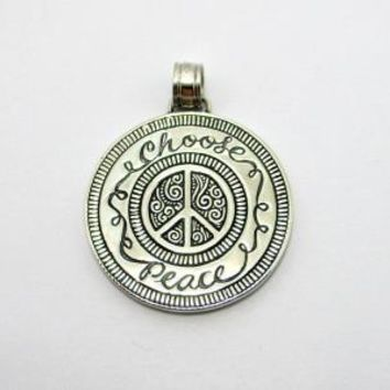 AP-1123-S Sterling Silver Pendant With Plain Silver