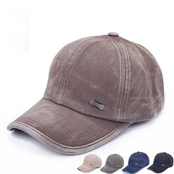 New Unisex Hats Cadet Cap Men Women Classic Adjustable Army Plain Hats