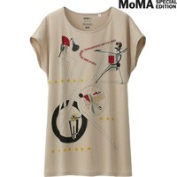 WOMEN SPRZ NY SHORT SLEEVE T (El LISSITZKY) | UNIQLO