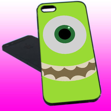 Cute Green Monster Inc - iPhone 4 / iPhone 4S / iPhone 5/ Samsung S3 / Samsung S4 Case Cover