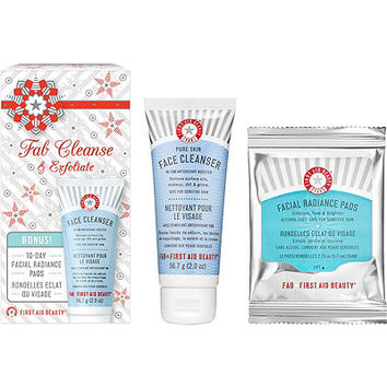 First Aid Beauty Fab Cleanse & Exfoliate Kit | Ulta Beauty