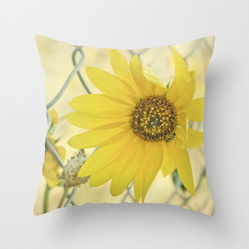 nothing lasts forever Throw Pillow by Shawn Terry King
