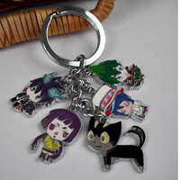 "Blue Exorcist: ""Keyring (Metal) - Chibi Mascots 1"" : TokyoToys.com: UK Based e-store, Anime Toys Retail & Wholesale, Manga Action Figures,  Hentai Statues, Japanese Snacks, Pocky, DVDs, Gashapon,  Cosplay, Monkey Shirt, Final Fantasy, Bleach, Naruto, Death"