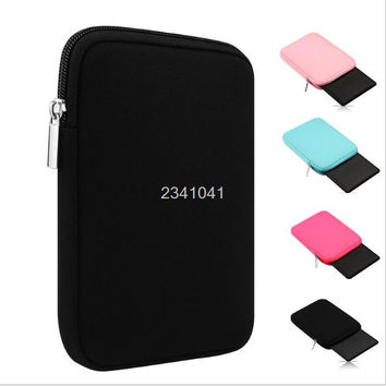 Durable Wool Felt Hand Hold Portable Sleeve Pouch Tablet Bag Cover Case for iPad Mini 1 2 3 4,for iPad Air 1 2 For Kindle