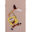Spongebob Transparent Back Cover Case for iPhone 6