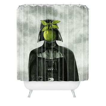 Eric Fan Son Of Darkness Shower Curtain