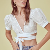 Selma Wrap Top – For Love & Lemons