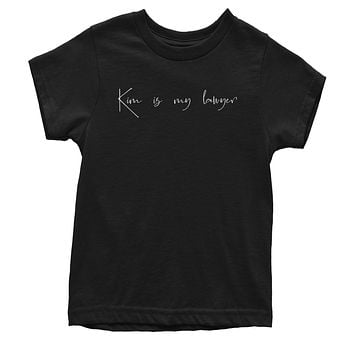 Kim Is My Lawyer Youth T-shirt