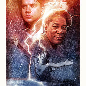 """""""The Shawshank Redemption"""" Large by Paul Shipper"""