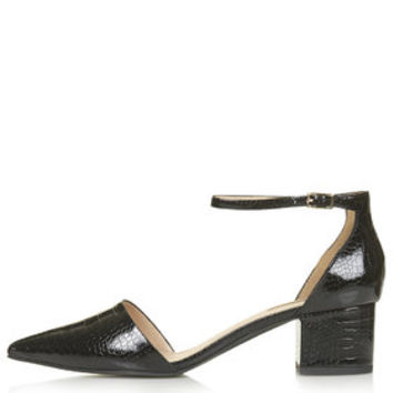 JIVE Mid-Heel Shoes - Black