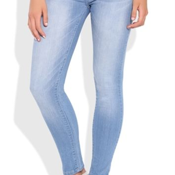 Low Rise Super Light Wash Reign Super Stretchy Jegging