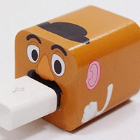 Disney Iphone Charger USB Skin Sticker Wrap -Sticker Only Not Include Charger (Potato Head)