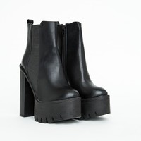 Missguided - Rosamonde Extreme Platform Chelsea Boots