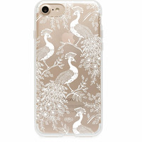 Clear Peacock iPhone 7 Hard Case