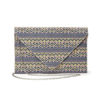 Zigzag Pattern Design Clutch Bag not available