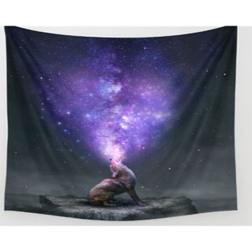 Wolf Star Wars Tapestry, Beach Throw, Home Decor  150*200cm Polyester