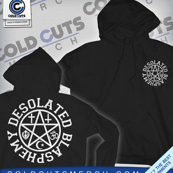 "Cold Cuts Merch - Desolated ""Blasphemy"" Hoodie"