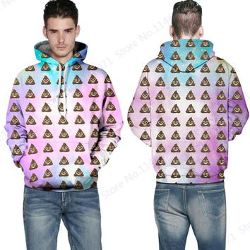 Funny Mr Goo Printed Skateboard Pullover Hooded Pink Dream Star Skateboarding Hoodies Men Long Sleeve Hoody Coat With Pocket