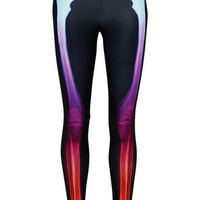 Rainbow Skeleton Legging