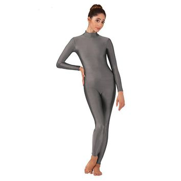 Unisex Long Sleeve Unitard