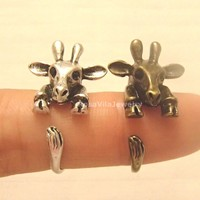 Vintage Wrapping Giraffe Ring