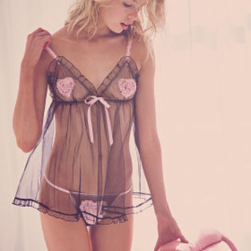 Ruffle Heart Babydoll - Darling by Victoria's Secret - Victoria's Secret