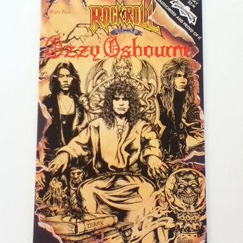 OZZY OSBOURNE Rock n Roll Comic Book Part 2 of 2 First Printing #29 July 1991 Issue