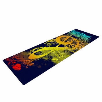"Federic Levy-Hadida ""Sound of Nature"" Rainbow Music Yoga Mat"