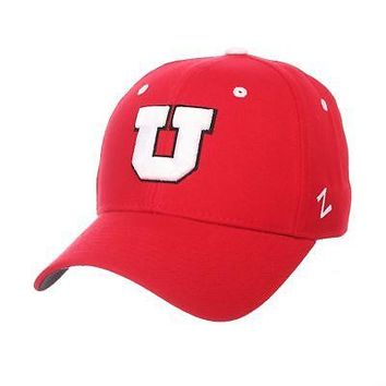 Licensed Utah Utes Official NCAA DH Size 7 3/4 Fitted Hat Cap by Zephyr 079645 KO_19_1