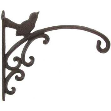 Brown Iron Wall Bracket Hook with Bird | Hobby Lobby | 973479