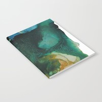 Green and Gold Notebook by duckyb