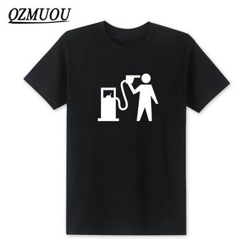 2018 New Fashion Petrol Head Car T Shirt Banksy Trackday Motorsport JDM Gift for Dad Hipster funny T-shirt Cotton Top Tee XS-XXL