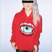 ToastyCo. Clothing! Cute Clothing that comes with free skittles!— Kiss of DEATH Sweatshirt