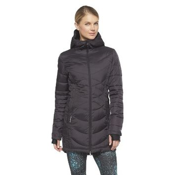 Women's 3/4 Length Puffer Jacket - C9 by Champion